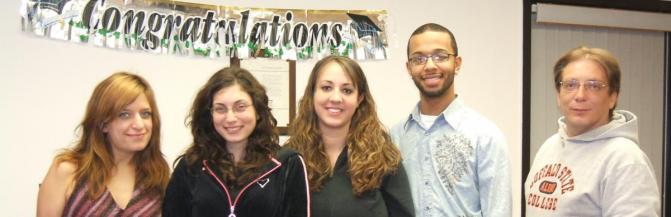 Group of student graduates